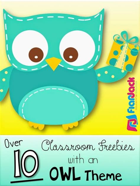 owl theme flapjack educational resources lots of owls classroom