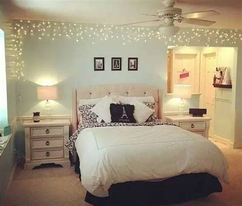 beautiful bed bedroom decor lights room