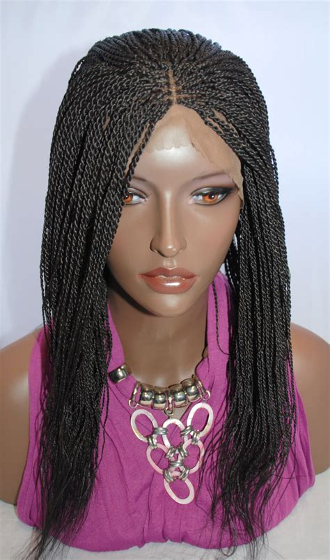 premade synthetic senegalese twist braided lace front wig senegalese twist 2 on storenvy
