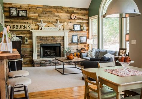 homey living room 15 homey rustic living room designs home design lover