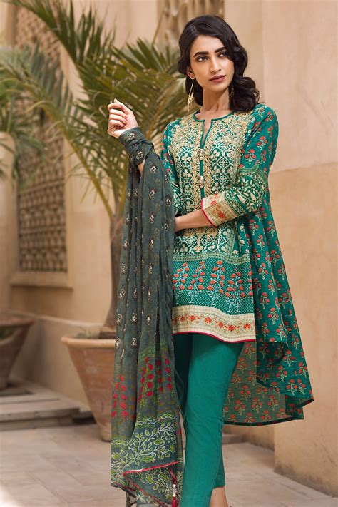 New Collection khaadi eid collection 2018 lawn chiffon eid dresses for