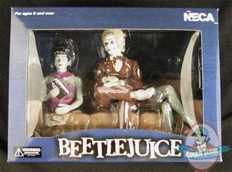 beetlejuice couch beetlejuice pvc couch scene diorama action figure by neca