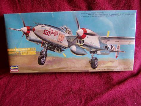Hasegawa P 38 J L Lightning Skala 1 72 hasegawa 1 72 lockheed p 38j l lightning maj macguire hasegawa 1988 131 buddy model kit