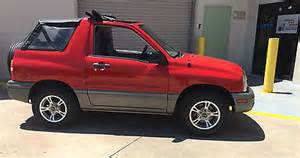 2003 chevy tracker convertible