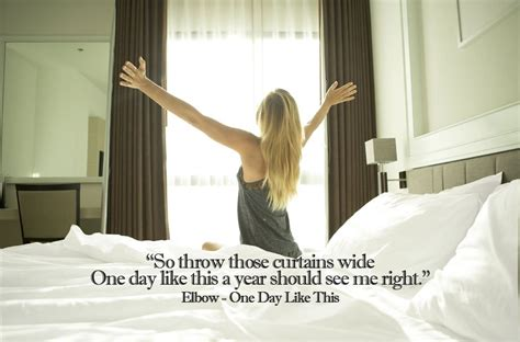 throw those curtains wide elbow the most inspirational song lyrics to kick start your 2018