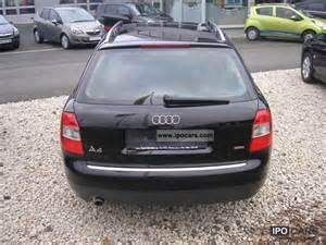 Used Audi A4 Avant Wagon 2003 Audi A4 Station Wagon Avant Air Car Photo And Specs