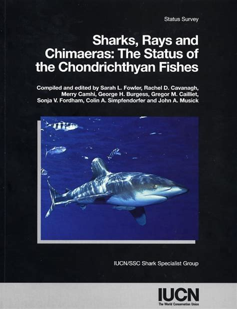 out of the fowler s snare books sharks rays and chimaeras the status of the
