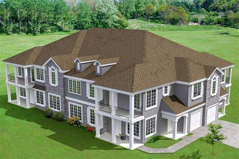 8 unit house plan with corner decks 18511wb architectural designs house plans