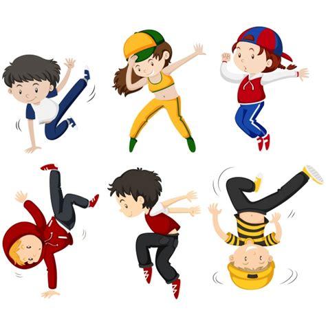 imagenes niños bailando animados colecci 243 n de ni 241 os bailando descargar vectores gratis
