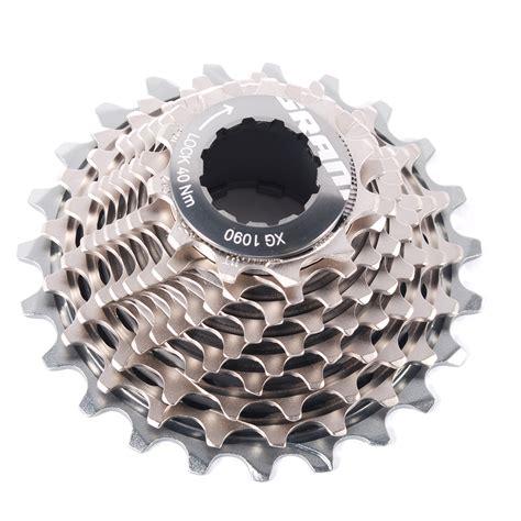 Sram Xg 1090 11 25 X Dome 10 Speed Road Bike Cassette Powerdomex N sram xg 1090 powerdome x road cassette 10 speed 11 23t ebay