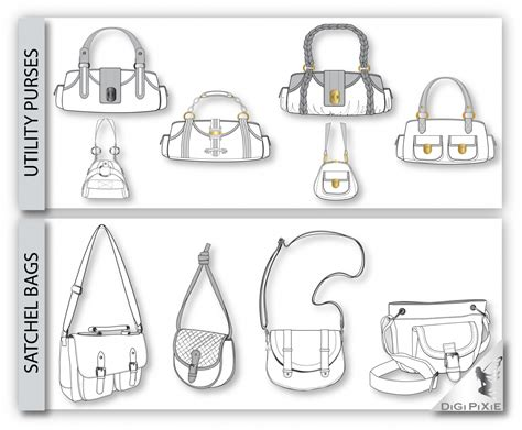You Must Be Signed In To Download This File Handbag Design Templates