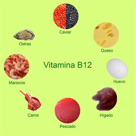 b12 vitamina alimenti alimentos con vitamina b12 y b6