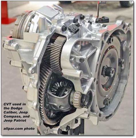 Jeep Cvt Transmission Problems The Jatco Cvt Used In The Dodge Caliber Jeep Patriot And