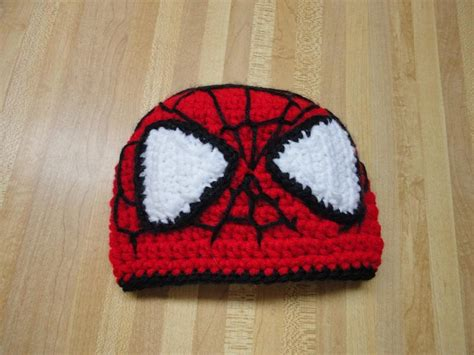 spiderman pattern knitting you have to see spiderman beanie by dhagy30