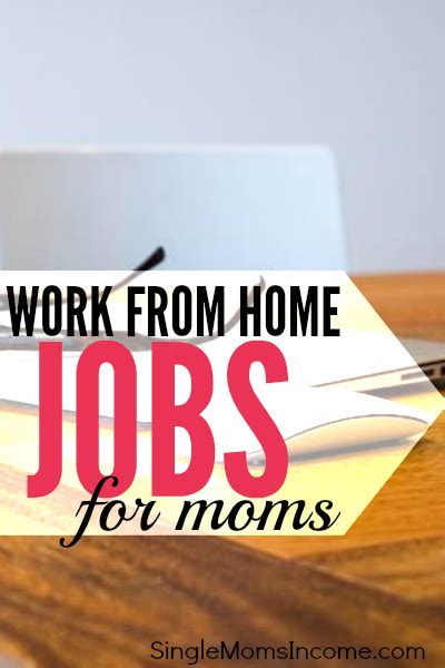 work from home for single income
