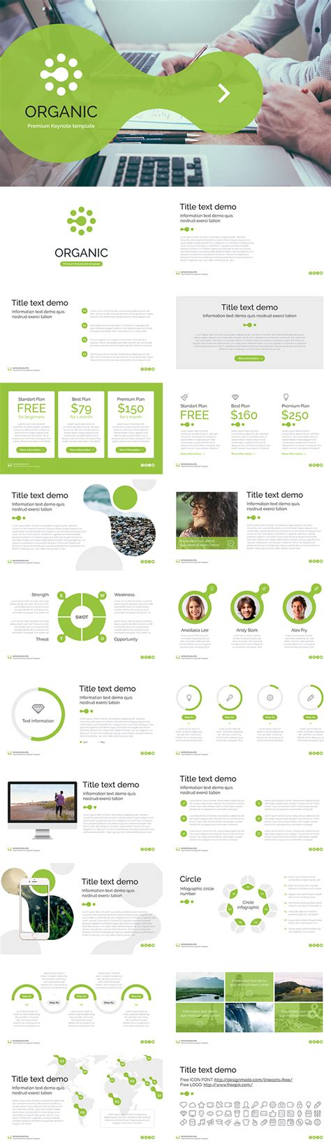 best free keynote templates free keynote template organic free now