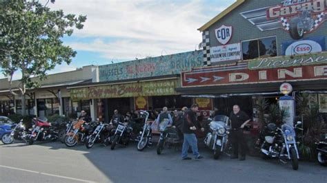 Ricks Garage by Batman And Mrs C With Friends At Ricks Garage Picture