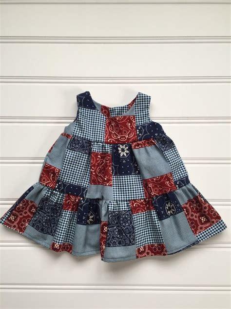 Dress Bandana Baby western dress baby dress bandana baby dress