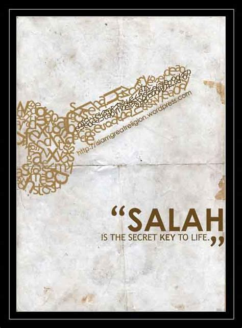 salah namaz is the key to jannah and succes in life key to life quotes quotesgram