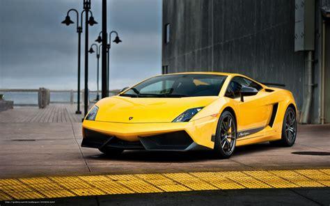 Lamborghini Gallardo Superleggera Yellow Wallpaper Lamborghini Gallardo Superleggera