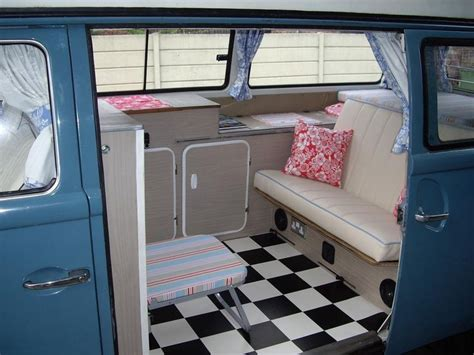 pink volkswagen van inside 254 best images about vw t25 interiors and paint on