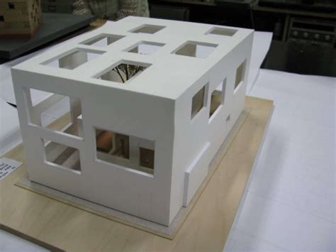n house model of n house designed by sou fujimoto architizer