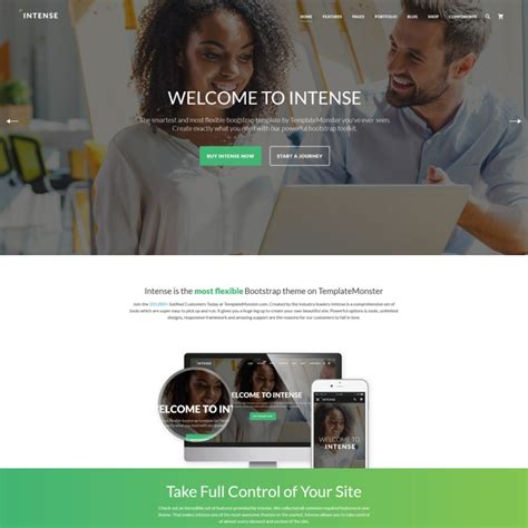 bootstrap templates for web design save 50 on any template by templatemonster bonus 25