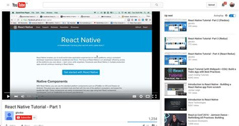 react native tutorial youtube learn to develop native apps with react native