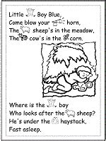 nursery rhymes coloring pages and printable activities 1