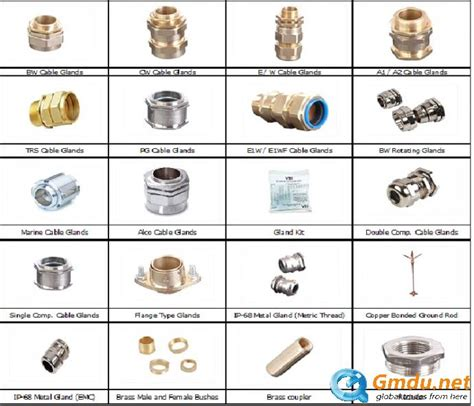 electrical accessories brass cable glands and electrical wiring accessories