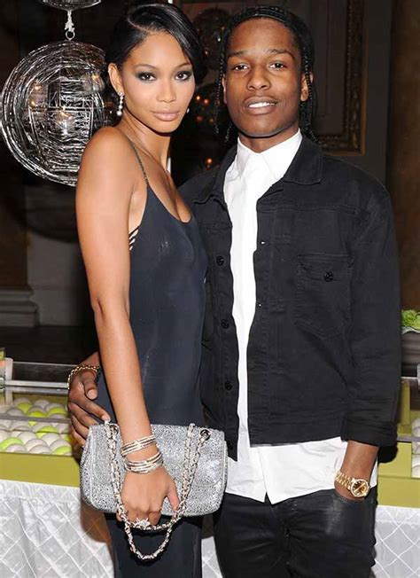 chanel iman on asap rocky victoria secret model chanel iman is dating younger guy