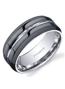 modern mens wedding bands new modern style comfort fit mens 8mm black titanium wedding band ring sz 7 14 ebay