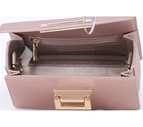 Tas Charles Keith Set Pouch Pink charles and keith pink sling bag