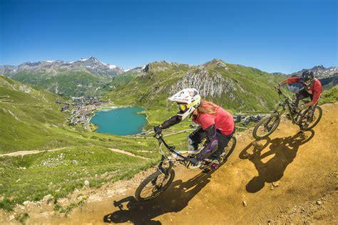 mtb le mountain biking holidays bike park in tignes