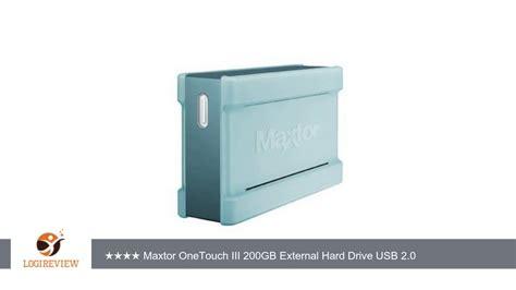 Harddisk External 200gb maxtor f01e200 onetouch iii 200gb external drive usb 2 0 review test