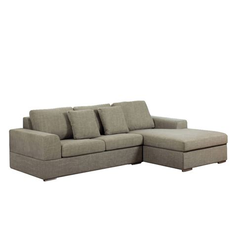 Verona Sofa by Verona Right Corner Sofa Bed Mocha Dwell