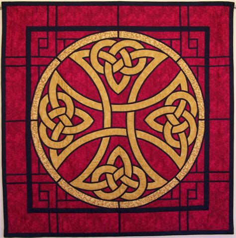 Celtic Cross Quilt Pattern by The Tartan Chronicles