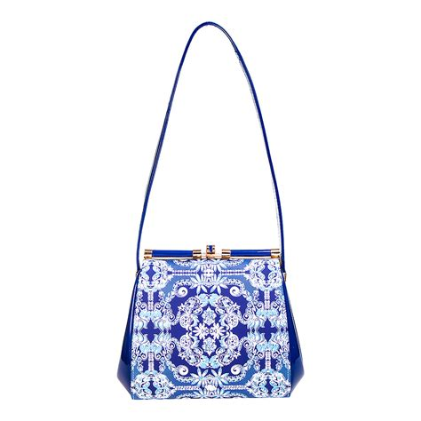 Secret Flower Totebag Looks Like Original banned apparel iva mandala vintage retro blue womens bag handbag ebay