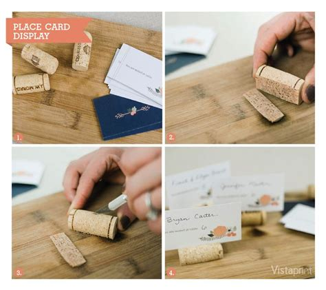 how to make cork place card holders 30 wine corks country wedding ideas with tutorials