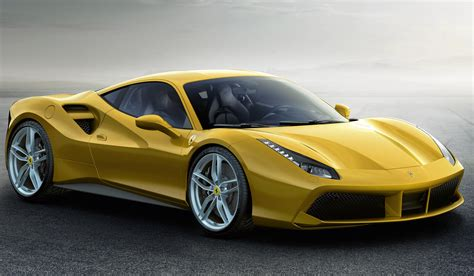 Image Gallery Yellow Ferrari 488