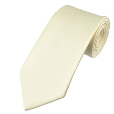 plain ivory boys tie from ties planet uk