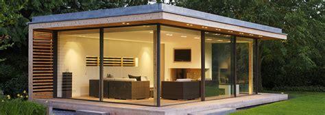 studio bureau de jardin extension bois pool house