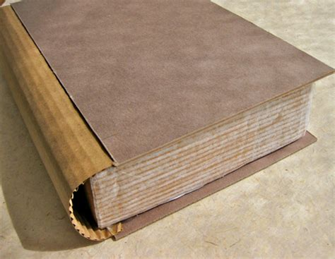 How To Make A Book Out Of Cardboard And Paper - diy project brenna s secret storage books design sponge