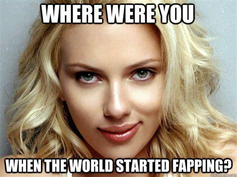 Scarlett Johansson Meme - sfw pr0n photos memes