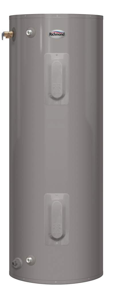 richmond self cleaning water heater richmond t2v40 d 40 gal essential for mobile home electric