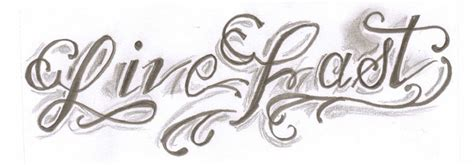 quicker tattoo font live fast tattoo lettering by cxloe on deviantart