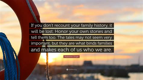 recount text biography albert einstein madeleine l engle quote if you don t recount your family