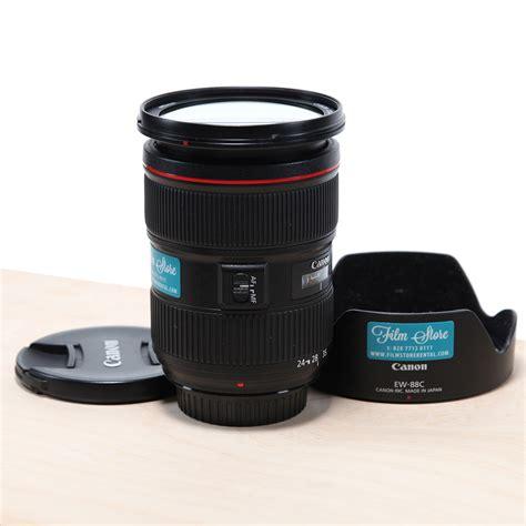 Canon Ef 24 70mm 24 70 Mm F28l Ii Usm Like New In Box Second canon ef 24 70mm f 2 8l ii usm store rental