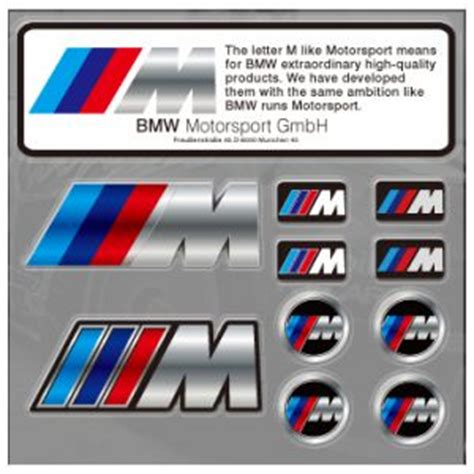 power bmw car stickers decal logo emblem price review
