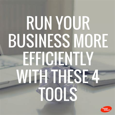 Small Business Efficiency Act increase your business efficiency with these 4 tools